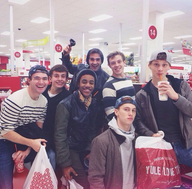 The Toursies Black Friday shopping <--- normally I wouldn't do this but....#newsiesfromtarget