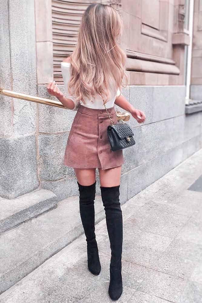 24 super süße Outfits für Mädchen, die diesen Herbst … – Klamotten