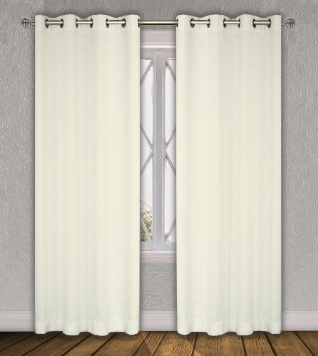 Luxura Room Darkening, Insulated Grommet Window Curtain Set (2 pieces) in Ivory Keys LJ Home Fashions http://www.amazon.com/dp/B008HYUYTS/ref=cm_sw_r_pi_dp_pTRSub0QBPK7S