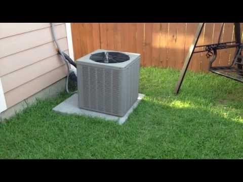 AC Fan Not Running - Replacing the HVAC Fan Motor vs Capacitor - YouTube