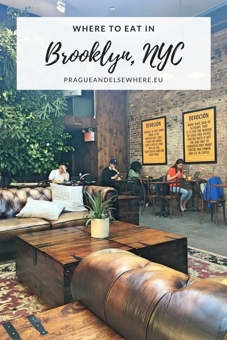 Where to eat in Brooklyn, New York City | New York Travel Tips | Things to do in New York, USA #newyork