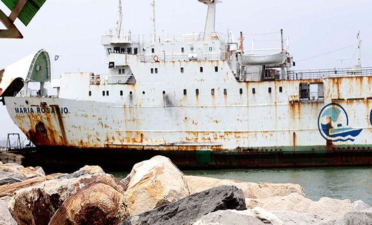Conferry retiró de su flota la única nave que transportaba carga pesada a Margarita - http://wp.me/p7GFvM-Ik9