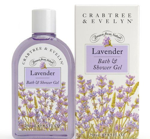 Crabtree & Evelyn Lavender Bath & Shower Gel 8.5 Oz by Crabtree & Evelyn. $42.99. infused with lavender oil. Product #: 3012700. Scent: The clean refreshing scent of English lavender. pH balanced formula. For shower or bath. 8.5 Oz/ 250 mL