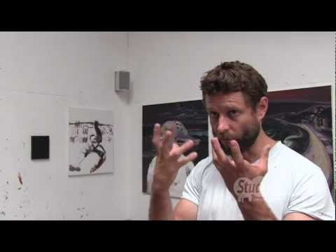 Kit Messham-Muir: Interview with Ben Quilty, artist, Robertson, Australia, 26 January 2013 - YouTube