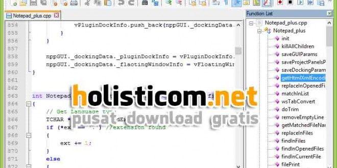 Notepat ++ 6.6 Full Terbaru, Notepat plus terbaru 2014, Notepat ++ 6.6 gratis new update | Free Download Software Terbaru