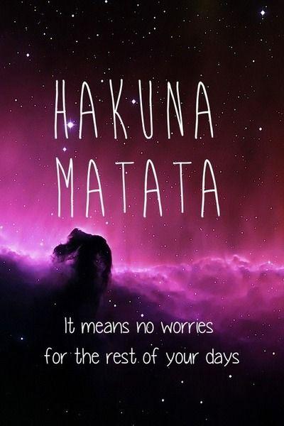 Hakuna Matata Lyrics Tumblr
