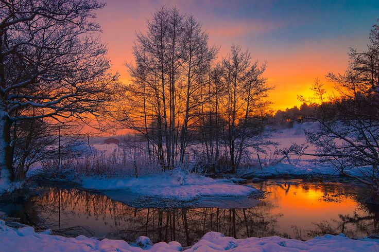Winter Evening by Magnus on 500px