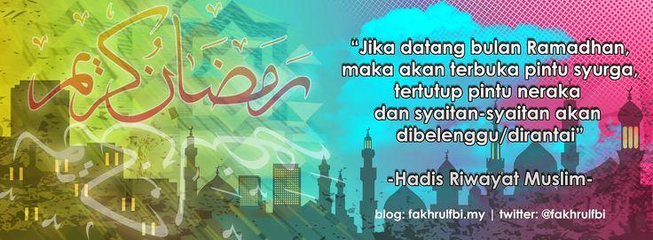 fakhrulfbi.my: Ramadhan Pesta Makanan, Jom Ubah ke Pesta Ibadah (Info Kesihatan)  Cover Photo Ramadhan