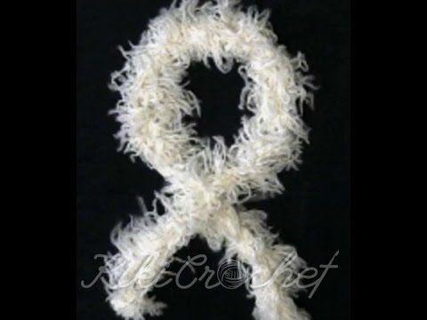Πλεκτο Κασκολ σε 5 Λεπτα! / Crochet 5-minute Scarf Tutorial! - YouTube
