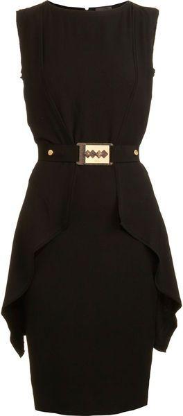 FENDI Sleeveless Belted Dress