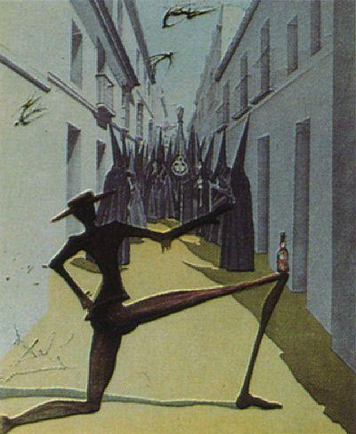 Salvador Dali, The Bird Has Flown