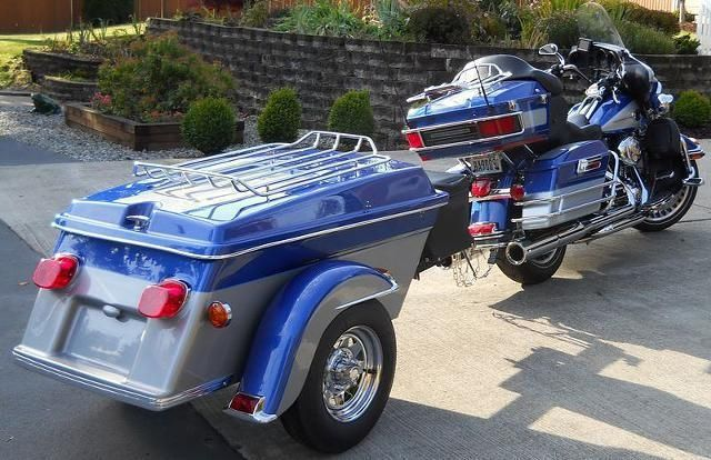 Legacy Motorcycle Trailer   Cargo Motorcycle Trailer   Pull Behind Motorcycle Trailer   The USA Trailer Store