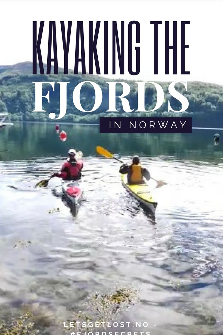 Adventure travel in Norway is something else! How about going for a nice kayak trip on a fjord?