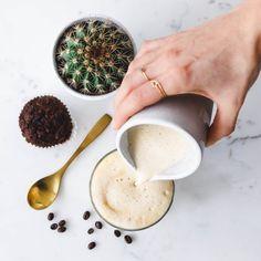 Genial einfacher veganer Milchschaum & Caffè Latte mit Coffee Circle · Eat this! Vegan Food & Lifestyle