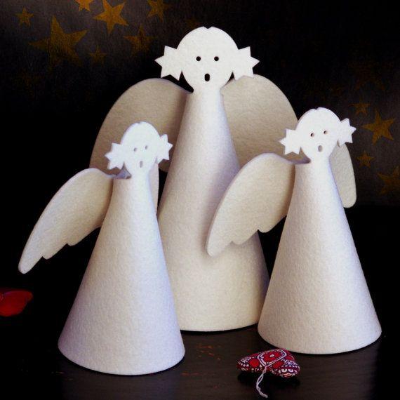 Modern Christmas decoration white minimalist by SKANDINAVIOUS