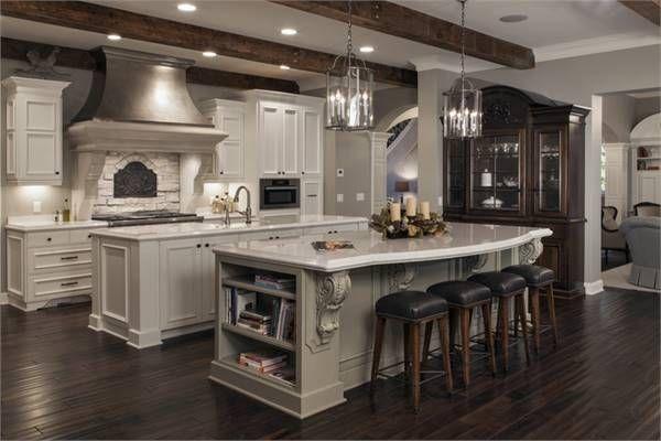 Best 25 double island kitchen ideas only on pinterest for Houseplans bhg com