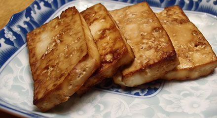 Baked Tofu  Use this tofu recipe for adding to stir-fries, rolling up in sushi, and serving with gravy on Thanksgiving.  It's a great, easy all-around tofu recipe that even kids love