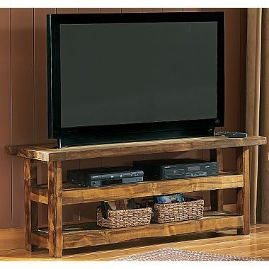 17 Best ideas about Rustic Tv Stands on Pinterest