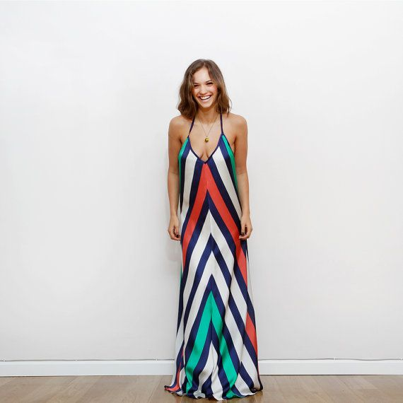 Hey, I found this really awesome Etsy listing at https://www.etsy.com/listing/162464763/stripes-prom-dress-maxi-dress-open-back