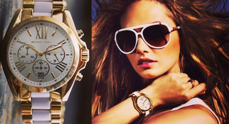 """Michael Kors watch designs are an eye-pleasing mix of sporty yet classy, luxurious yet functional and eye-popping yet aesthetically functional components. The Michael Kors ladies' watch collection can be broken down into the """"Goldtone,"""" Color,"""" White Hot,"""" Ceramics"""" and """"Leather"""" lines. Understanding the demands of accessorizing and the mercurial nature of changing styles and demands, he insists on bringing fashion mavens the kinds of designs that are both timeless and avant-garde."""