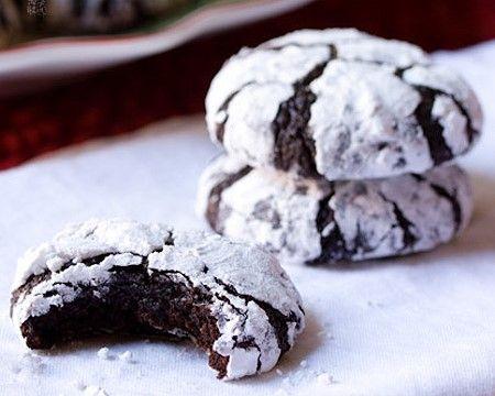 Hershey's Cocoa Crinkle Cookies Recipe