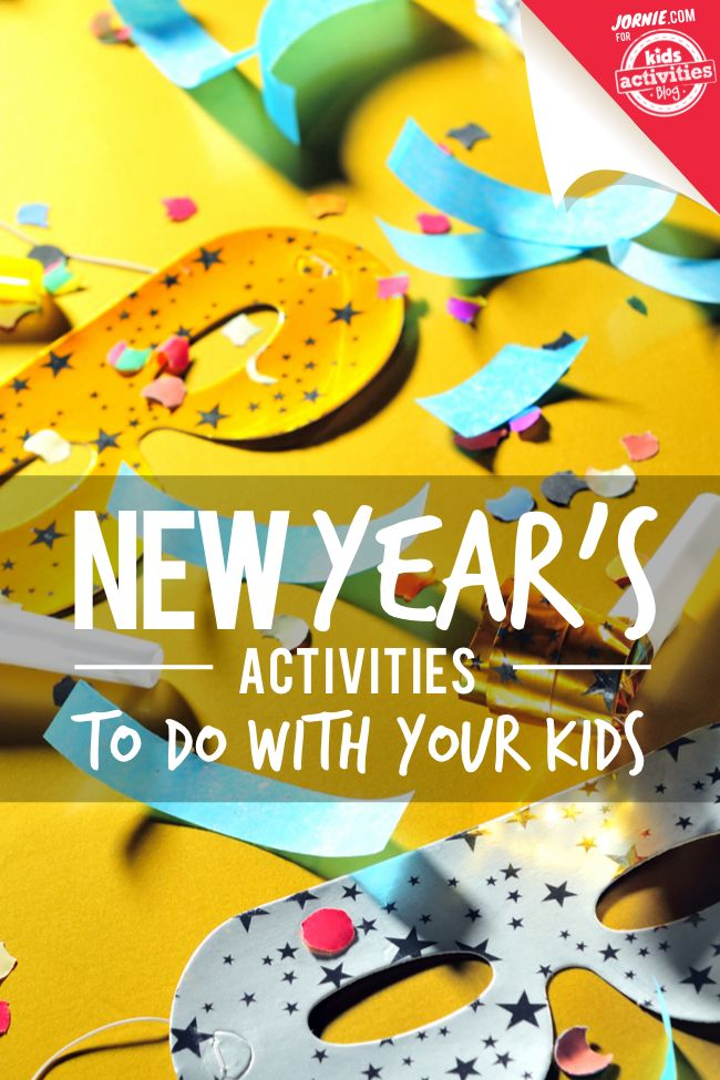Over 100 Great New Year's Activities to do wth Your Kids-by Stephanie Jones..Even if you're staying home, this season's New Year's activities don't have to be boring. Make everyone some fruity bubble tea and start counting down with these great family celebrations.