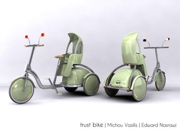 Trust Bike by Edward Nasrawi & Michou Vasilis, via Behance