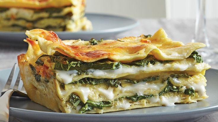 Easy White Sauce Veggie Lasagna