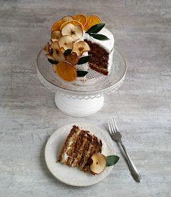 Pınar's Desserts: Mahlepli Elmalı Kek ve Krem Peynirli Krema