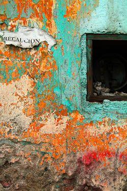 Found wall art in Oaxaca City