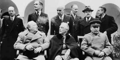 """VIDEO Dezbatere """"Historia"""": 70 de ani de la conferinţa de la Yalta. Regele Mihai: Nu pot să-l iert vreodată pe Churchill, ne-a aruncat în mâinile ruşilor"""