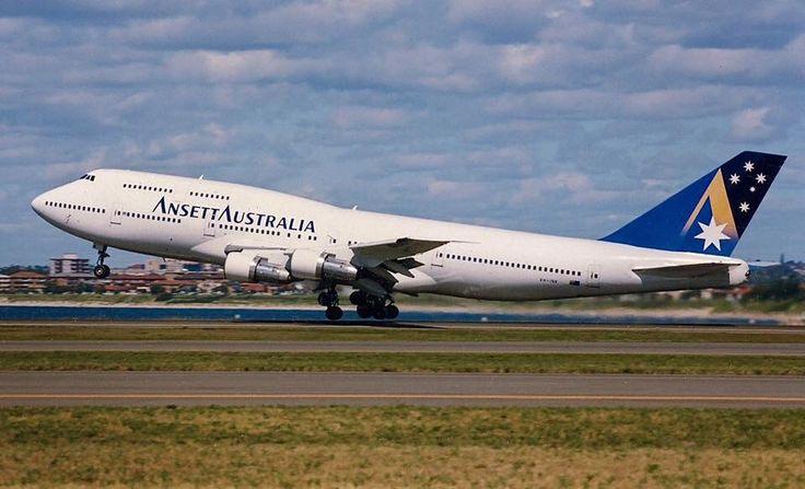 Ansett Australia Boeing 747-312 (VH-INK)