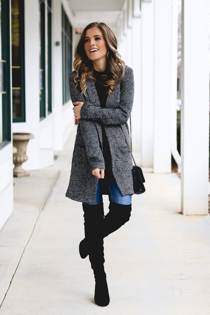 such a cute casual winter outfit