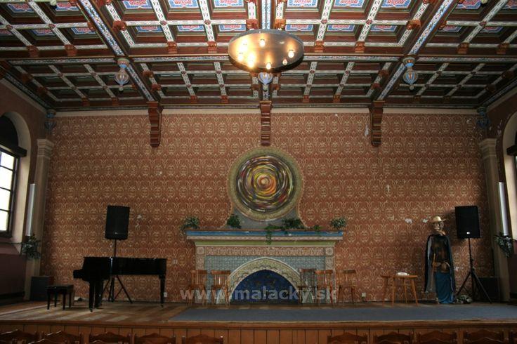 Synagóga Malacky interier