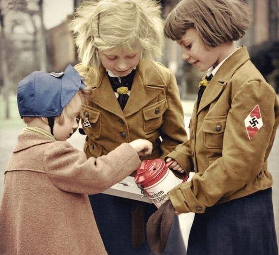 BDM Girls Color Photos World War II worldwartwo.filminspector.com