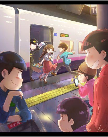 再会 #おそ松さん #Osomatsu-san