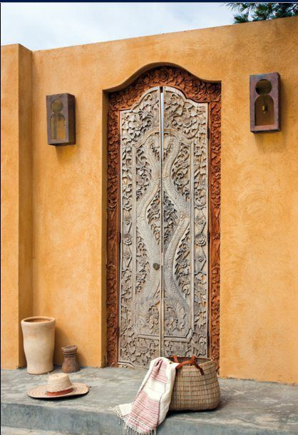 Mysterious doors which inspire to create your own cocoon for Design your own door