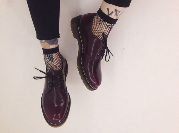 Docs and Socks: Vintage Dr. Martens, shared by lostinthedream.
