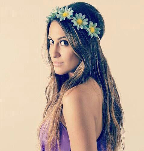 Hair : pretty flower head band