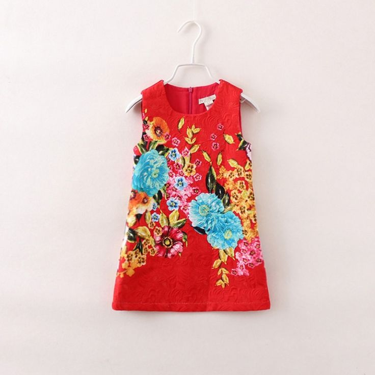 Bright Printed Dress