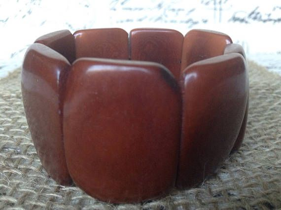 Brown beaded bracelet Boho bracelet made of tagua Artisan handmade. Ecuador jewelry, mom gift