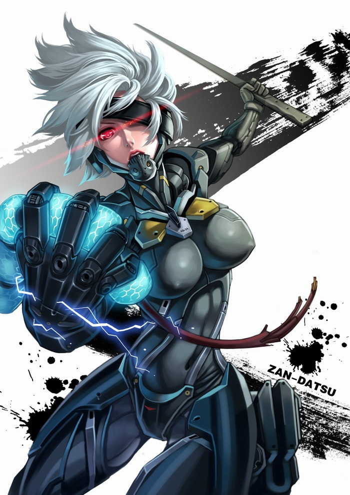 Female Raiden Metal Gear Solid Rising Revengeance