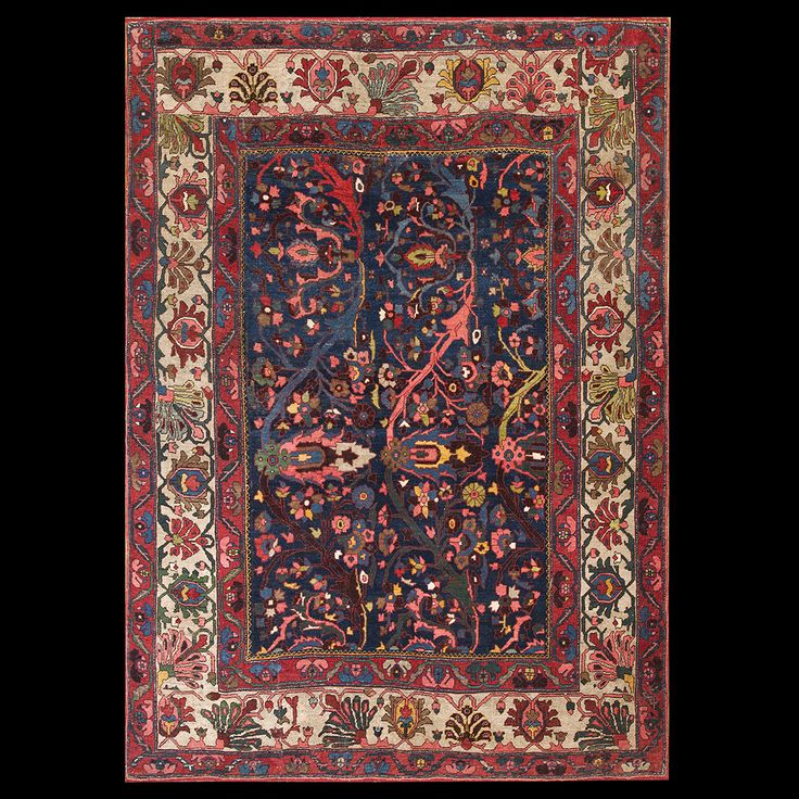 Bijar Rug   6431   Persian Informal 7u0027 0u0027u0027 X 9u0027 7