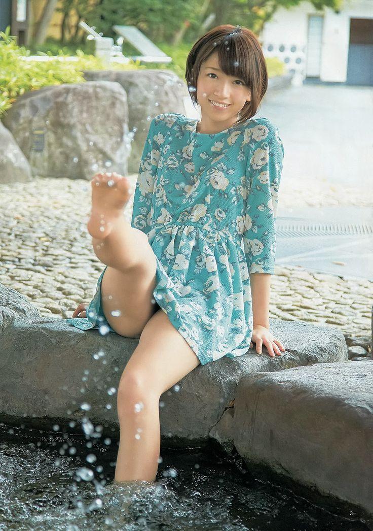 """Hashimoto Nanami (橋本 奈々未) - 乃木坂46 (Nogizaka46) - """"Ensei Biyori"""" Young Jump Magazine"""