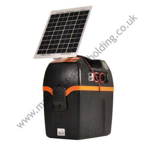 Gallagher Solar Power Energiser B200 incl. 6W Solar Assist - £350.00 ex. VAT #Gallagher, #Energiser, #ElectricFencing