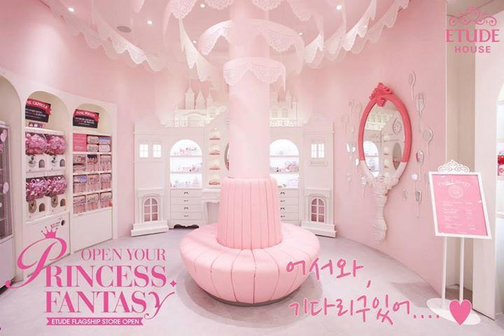 [K-Beauty] Brand Etude House Opens Princess House in Myeongdong, Seoul