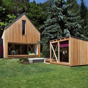 Nowoczesny dom weekendowy - Stribrna Skalice House / Prodesi | Domesi