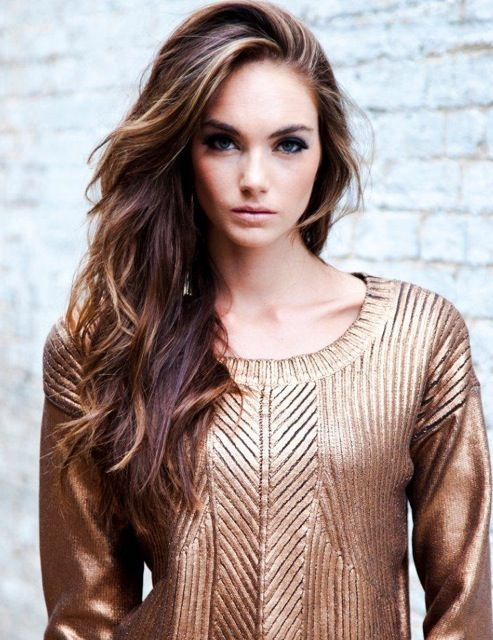 GORGEOUS highlights. I want to go to the salon now :)