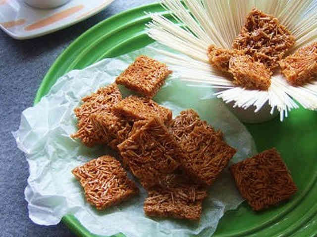 ザクザク食感♡塩キャラメル素麺!の画像