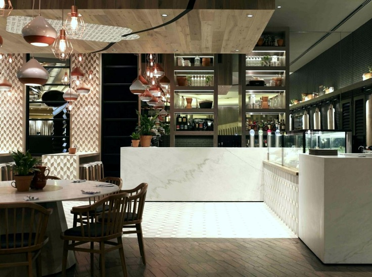 Cotta Cafe Design By Mim Description From Designers Recently Completed A New Located At Crown Melbourne Providing Warm And